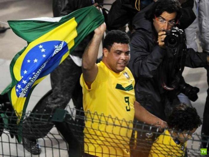 Роналдо борется с лишним весом (8 фото)