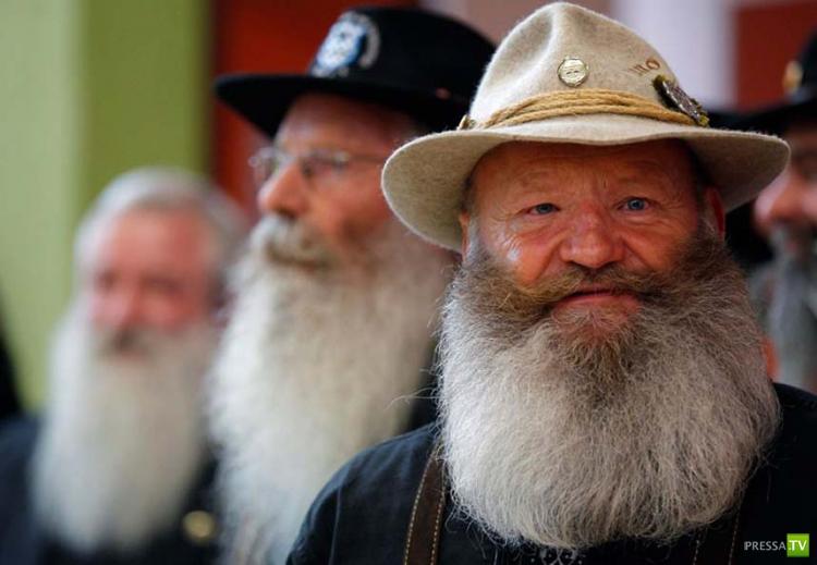 Французский конкурс усов и бород (17 фото)