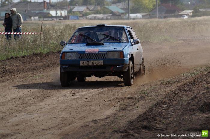 Авто-ралли в городе Шуя Ивановской области (24 фото)