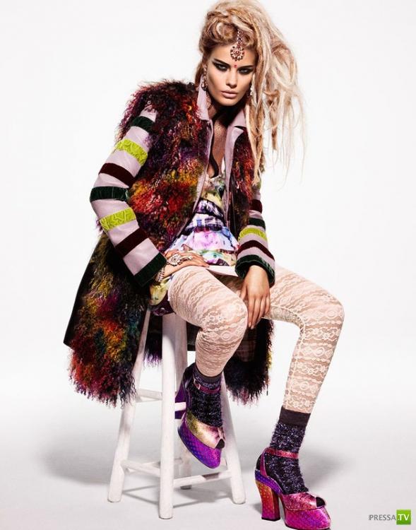 Подростковая мода Versace, Prada, Kenzo, Chanel, Christopher Kane и других (8 фото)