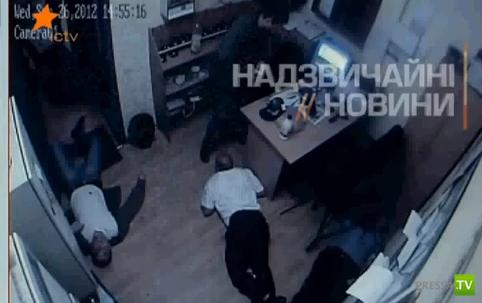Продолжение поста о стрельбе в киевском супермаркете...