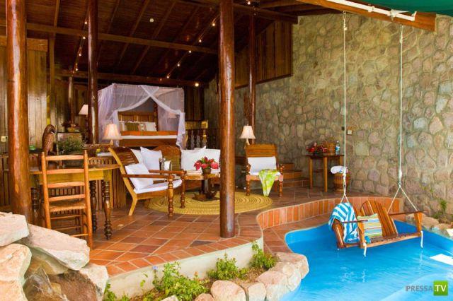 Сказочный курорт Ladera Resort в Карибском море (20 фото)