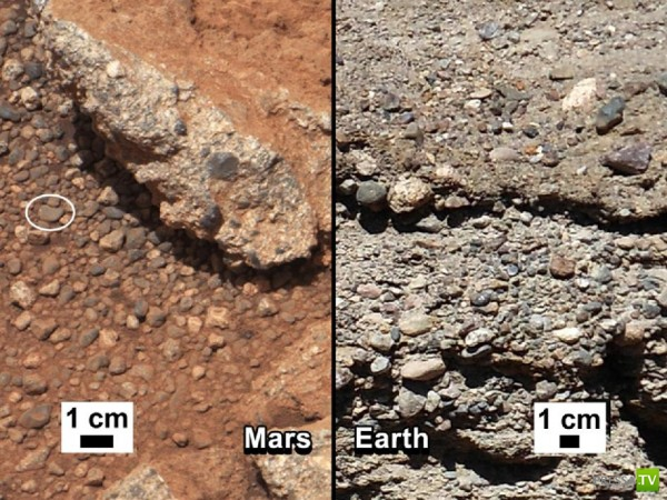 В прошлом на Марсе была вода... (3 фото)