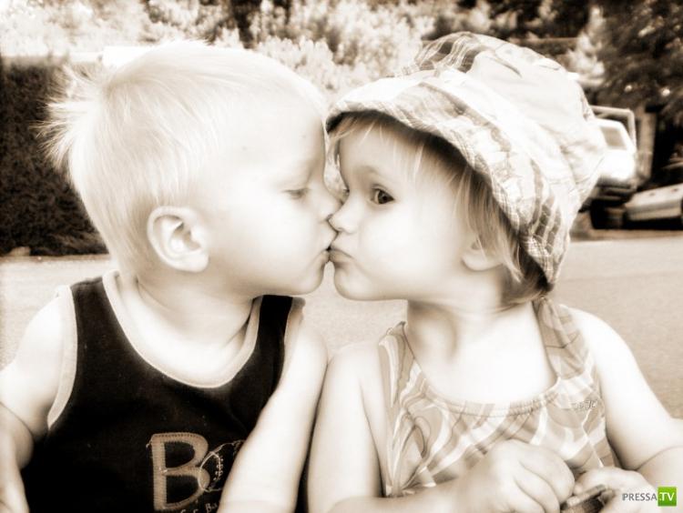 Самые интересные факты о поцелуях (10 фото)