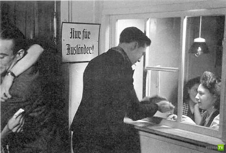 Система проституции и борделей в войсках Третьего рейха (10 фото)