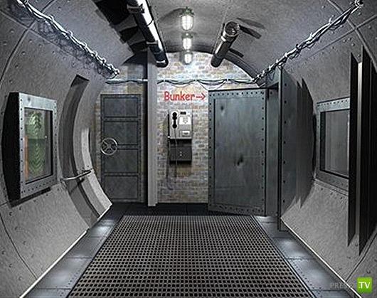 Бункер - спасение от апокалипсиса (5 фото)