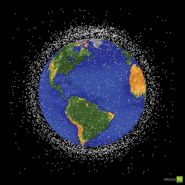 Космический мусор может навсегда запереть нас на Земле...