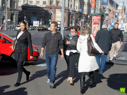 Россию впервые посетил Марк Цукерберг (Mark Zuckerberg) – основатель и генеральный директор Facebook (15 фото)