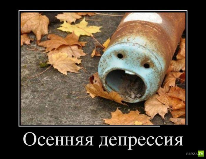 Демотиваторы на октябрь 10, (29 фото)