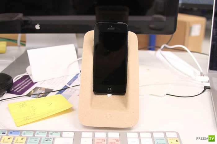 Делаем сами: Креативная подставка для смартфона iPhone (7 фото)