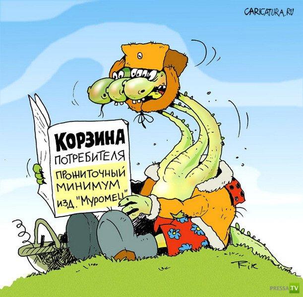 Веселые карикатуры, часть 3 (19 фото)