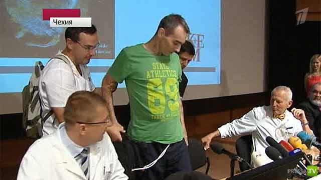 Человек с искусственным механизмом вместо сердца - живет в Чехии (5 фото)