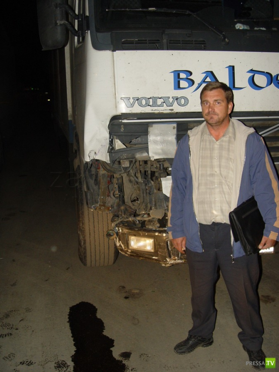 Пьяный водитель фуры Volvo совершил ДТП, повлекшее смерть человека, и скрылся... ДТП в Чувашии