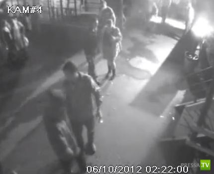 """Вооруженный налет на кафе """"Щепка"""" в Кемерово..."""