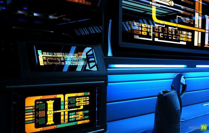 """Квартира в стиле """"Star Trek"""" (25 фото)"""
