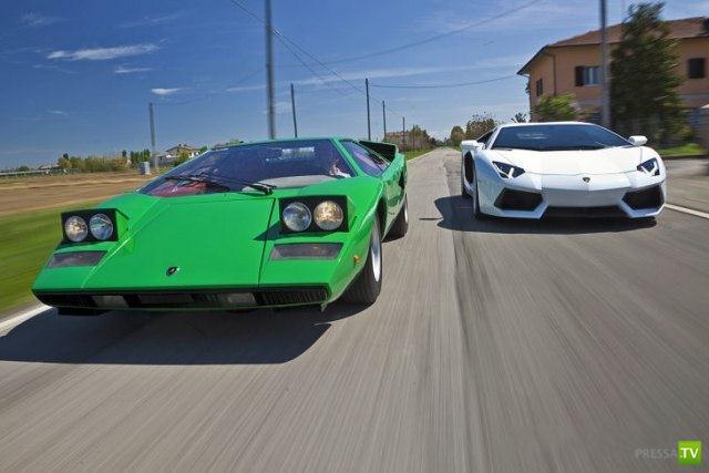 Lamborghini Countach - для любителей классики (14 фото)