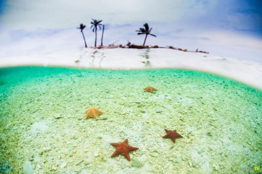 Острова Сан-Блас, Панама. Затерянный райский уголок (20 фото)