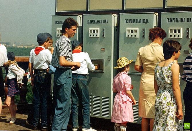 Советские люди в объективе американского туриста, 1989 г. (38 фото)