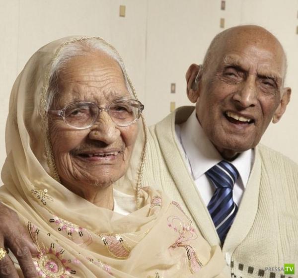 Самая верная пара в мире живет в Англии (4 фото)