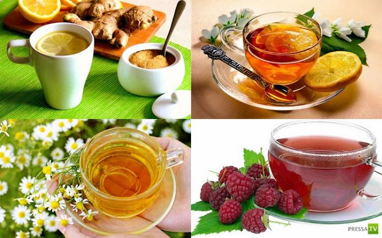 11 целебных напитков от простуды (12 фото)