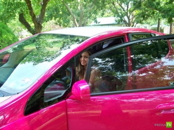 Самый женский тюнинг автомобиля в мире (19 фото)