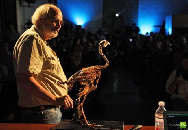 Палеонтологи собрались через пять лет создать динозавра ... (3 фото)