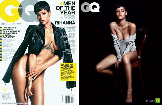 Рианна (Rihanna) — главная героиня декабрьского GQ (7 фото)