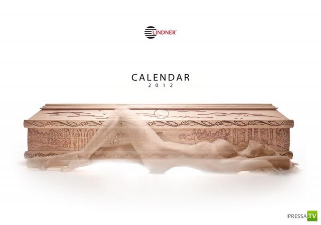 Корпоративный календарь от производителя гробов II (13 фото)