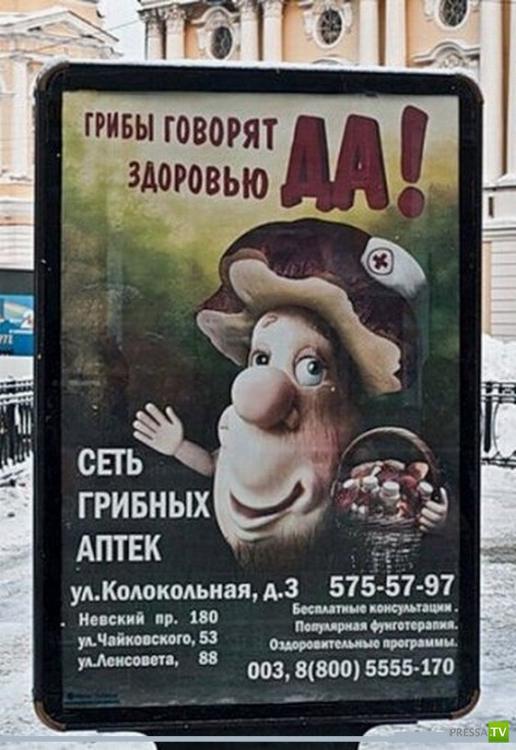 Народные маразмы - реклама и объявления, часть 18 (21 фото)