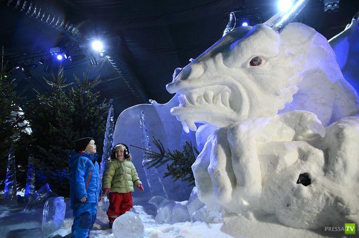 Лондонский Гайд-парк готовится к Рождеству (6 фото)