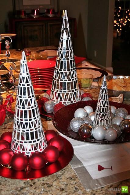 Креативные идеи для Новогоднего декора (14 фото)