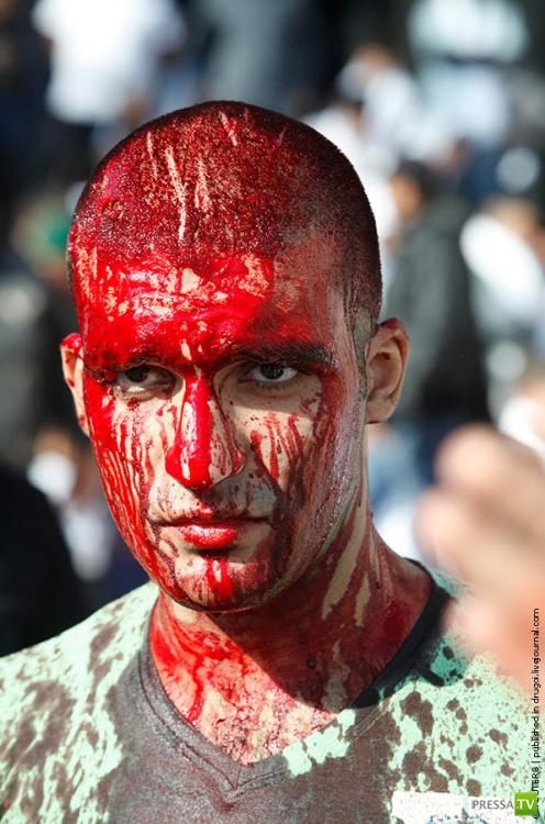 Шахсей-вахсей - день поминовения имама Хусейна  (21 фото)