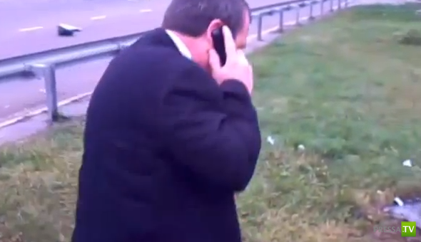 Кабминовский Лексус протаранил микроавтобус... ДТП под Киевом