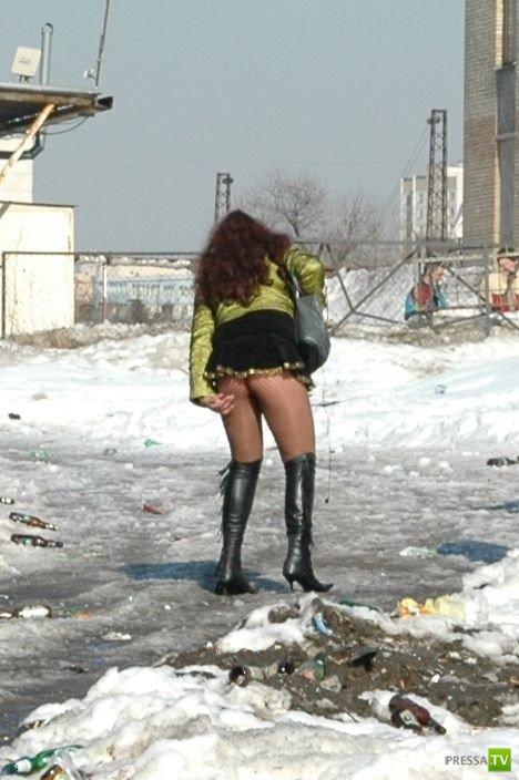Прикольные зимние фотографии (19 фото)