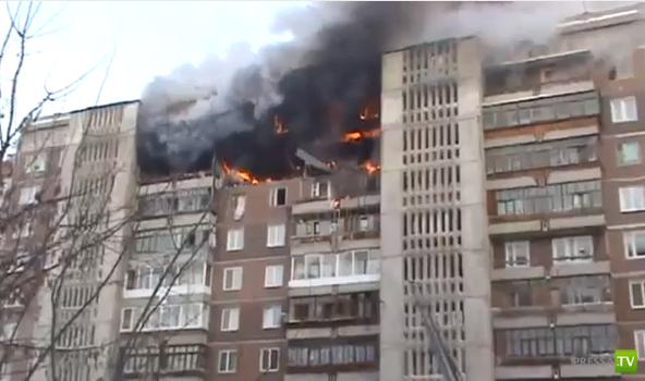 Взрыв в жилом доме Томска... Жесть!!!