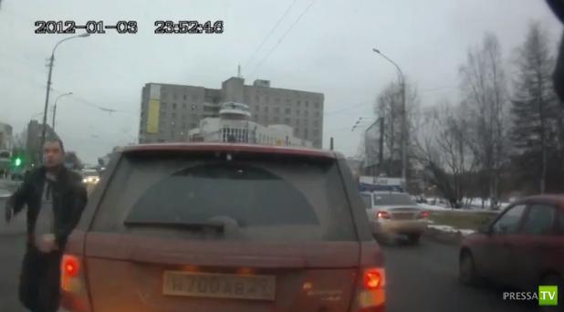 Погрозил пистолетом... ДТП в Архангельске