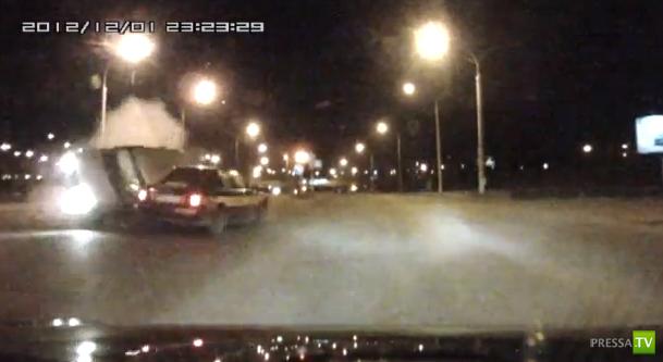Пьяный на чужом BMW... ДТП в Минске