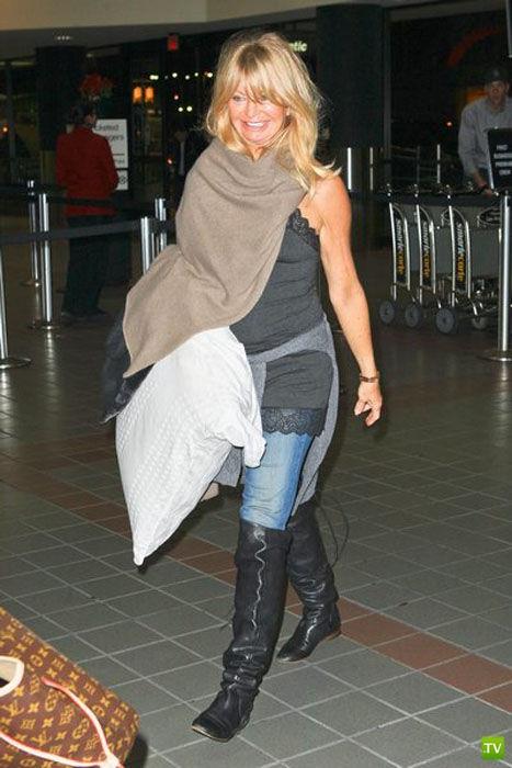 Новое лицо Голди Хоун... Жесть!!! (6 фото)