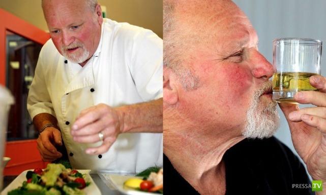 Мужчина ослеп от водки и прозрел от виски (3 фото)