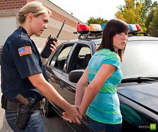За что могут арестовать школьника в США...