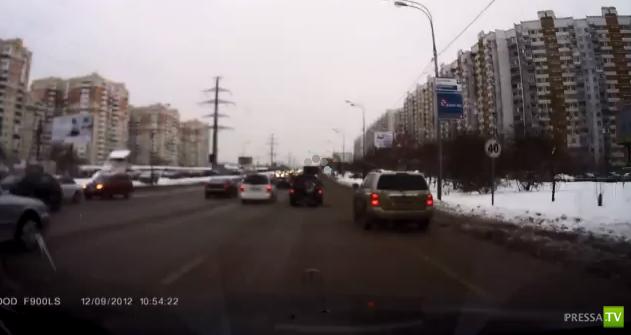 Пешеходы шли на красный... ДТП на Пятницком шоссе...