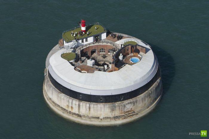 Форт Спитбанк - Гостиница премиум класса на воде (34 фото)