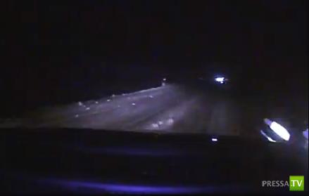 """Студентку на """"Пежо"""" занесло... ДТП на трассе Минск-Гомель"""