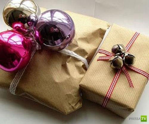 Упаковка для новогоднего подарка своими руками (44 фото)