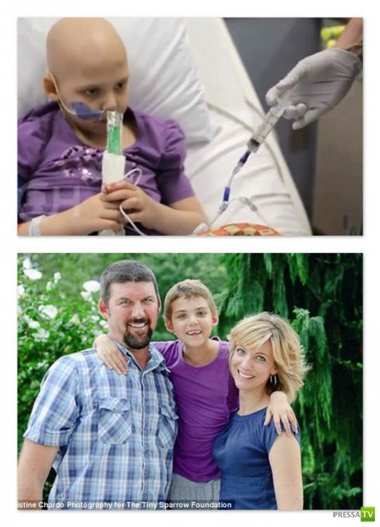 7-летняя девочка излечилась от рака при помощи инфекции ВИЧ (2 фото)