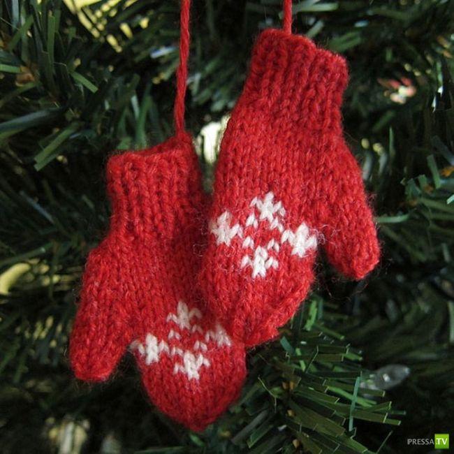 Новогодние украшения своими руками, часть 2 (28 фото)