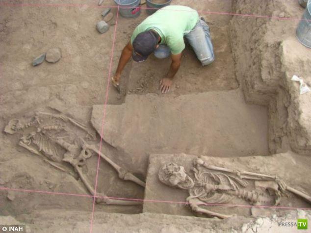 Неожиданная находка археологов в штате Сонора на западе Мексики (7 фото)