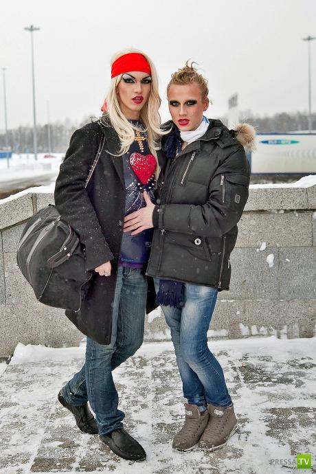 Российские фанаты Леди Гаги (13 фото)