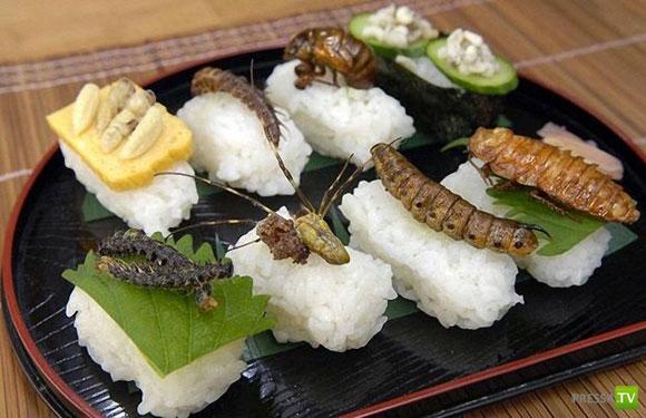 Экзотическая японская еда... Жесть!!! (10 фото)