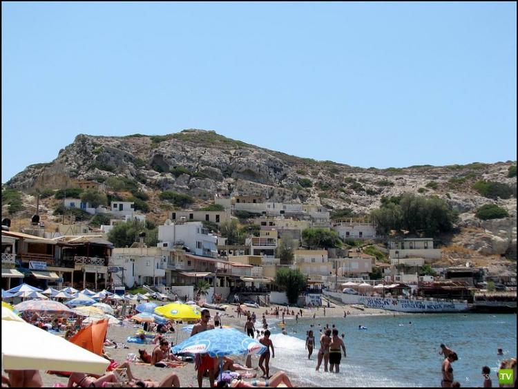 Матала (Matala). Крит. Греция (11 фото)